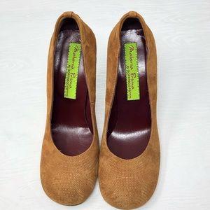 materia prima Shoes - Materia Prima | Women's Tan Vera Cuoio Heels